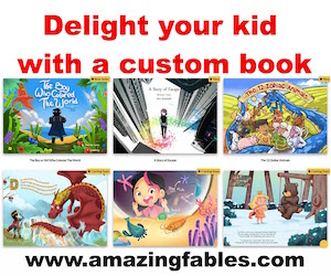 Amazing fables custom books for kids